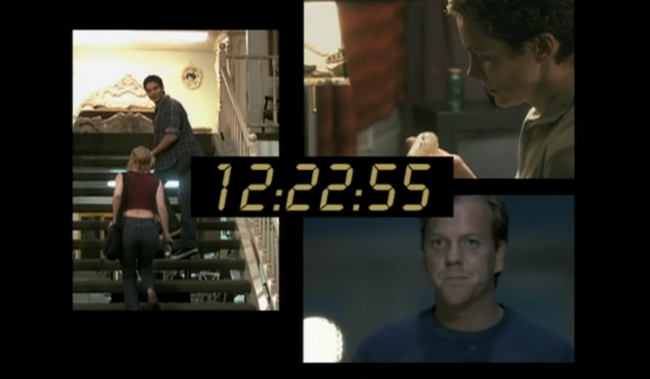 24-TWENTY FOUR-デジタル時計